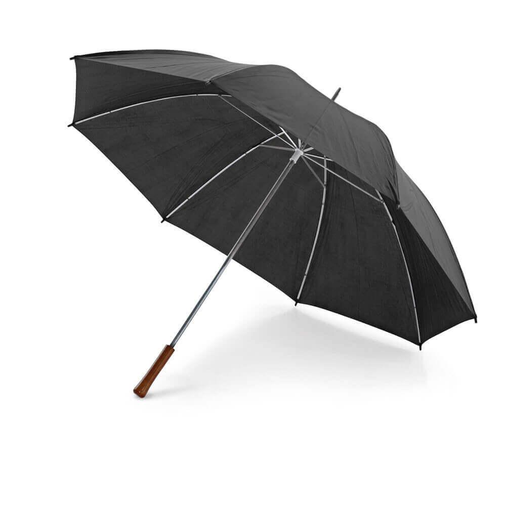 Golf umbrella. 190T polyester. Wooden