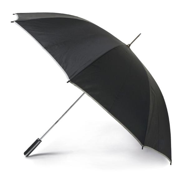 Golf umbrella. 190T polyester. EVA
