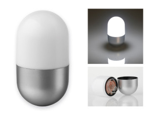 CAPSULE Plastové svietidlo s 5 LED