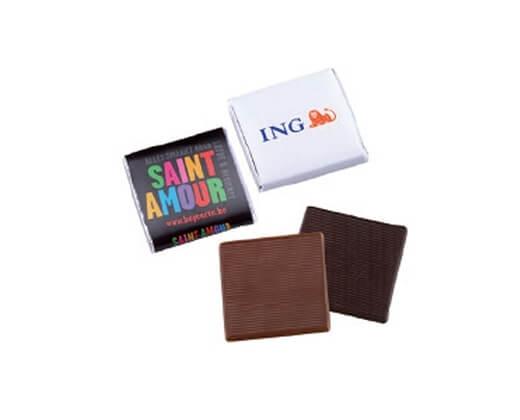 Mini čokoláda s potlačou obalu