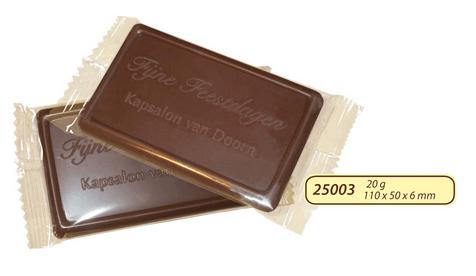 Reklamná čokoláda s logom