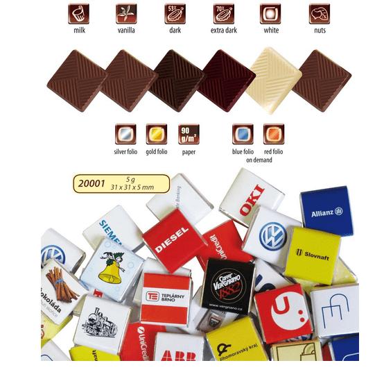 Čokoláda 5 g