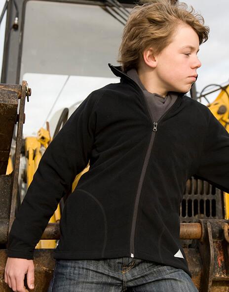 Detská fleecová bunda
